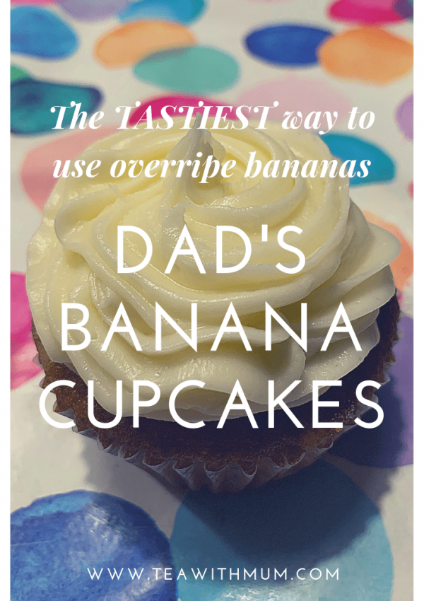 Banana cupcakes: easily the tastiest use of overripe bananas