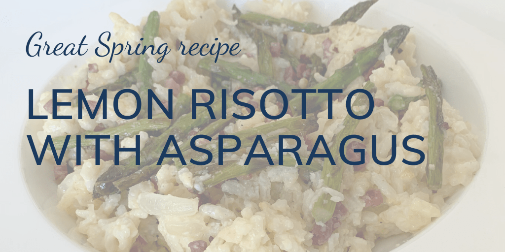 Great Spring recipe: Lemon risotto with asparagus banner