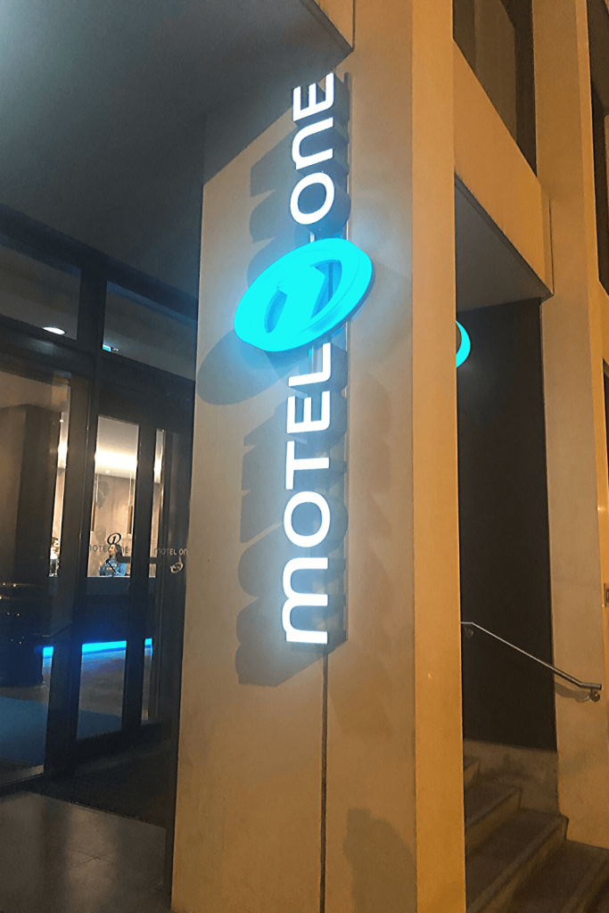 Our Motel One: a great location for seeing the sights in Brussels