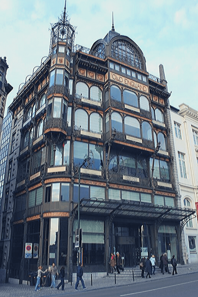 What to see and do in Brussels: Visit the Music Instrument Museum in the Old England Building, even if it is only to take a photo from the restaurant