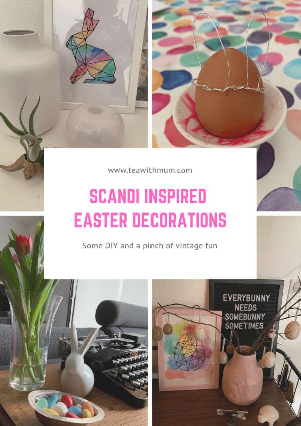 How to make and find elegant Scandi-inspired Easter decor on the cheap