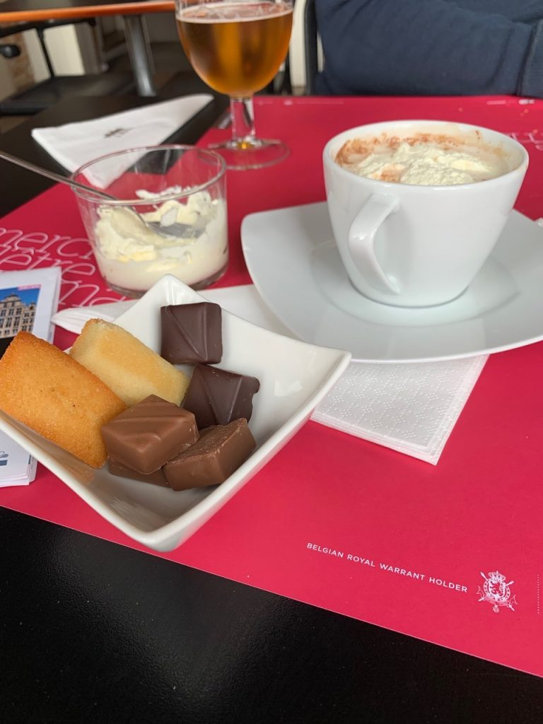 Witteners - the other chocolate to do in Brussels: for hot chocolate