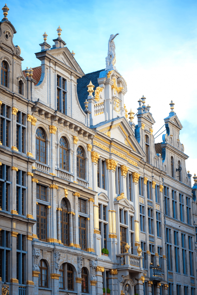What to see and do in Brussels: Visit the Grand Place, with its gorgeous guild houses; image by Stephanie leblanc on unsplash.