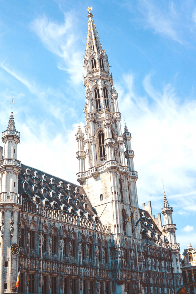 What to see and do in Brussels: the Hotel de Ville in the Grand Place must be top of that list; image by Yeo Kee on unsplash