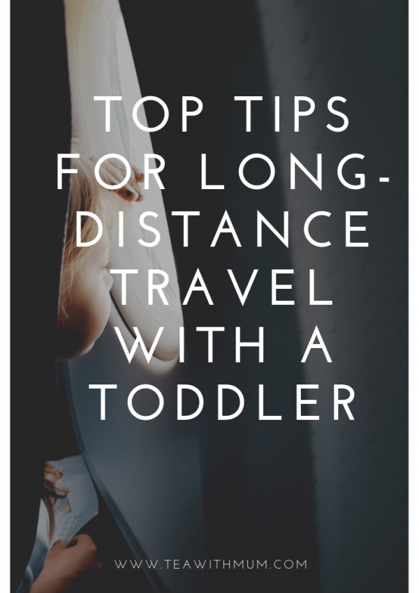 Top tips for long-distance travel with a toddler
