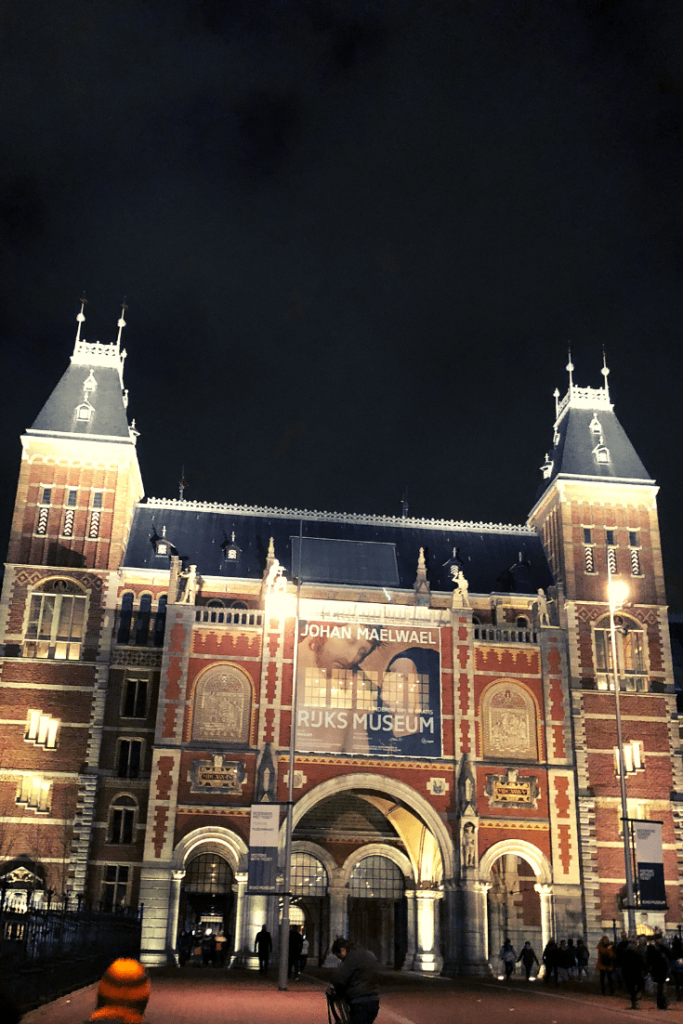 Rijksmuseum - things to see in Amsterdam on a city trip with a small child