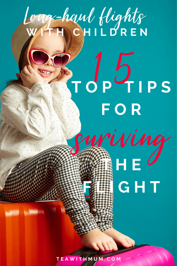 15 top tips for surviving a long-haul flight with a toddler