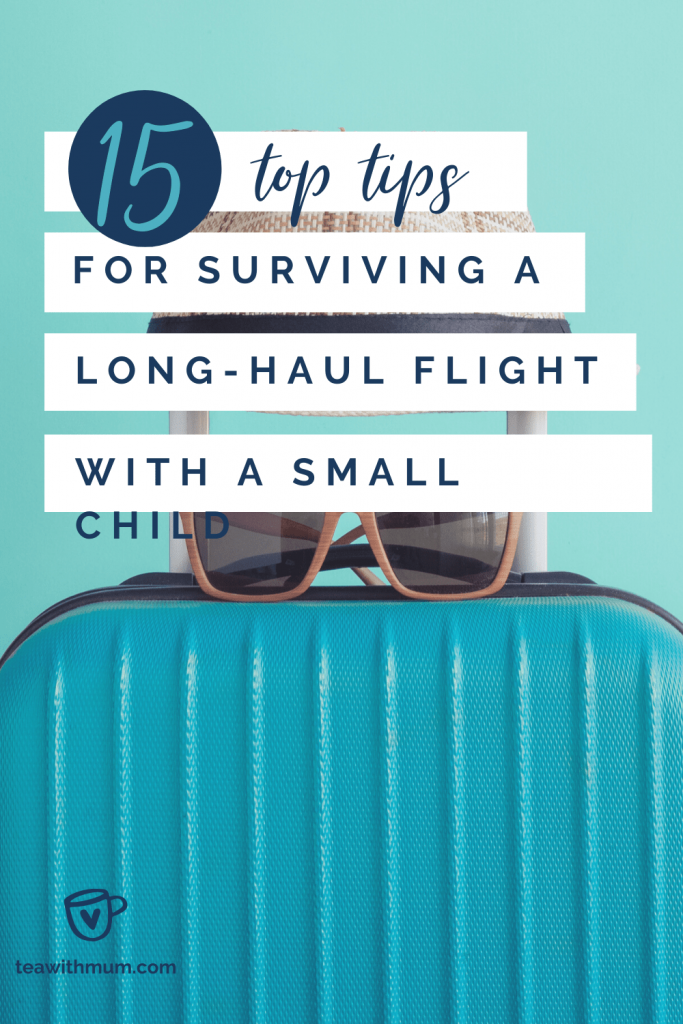 15 top tips for surviving a long-haul flight with a small child
