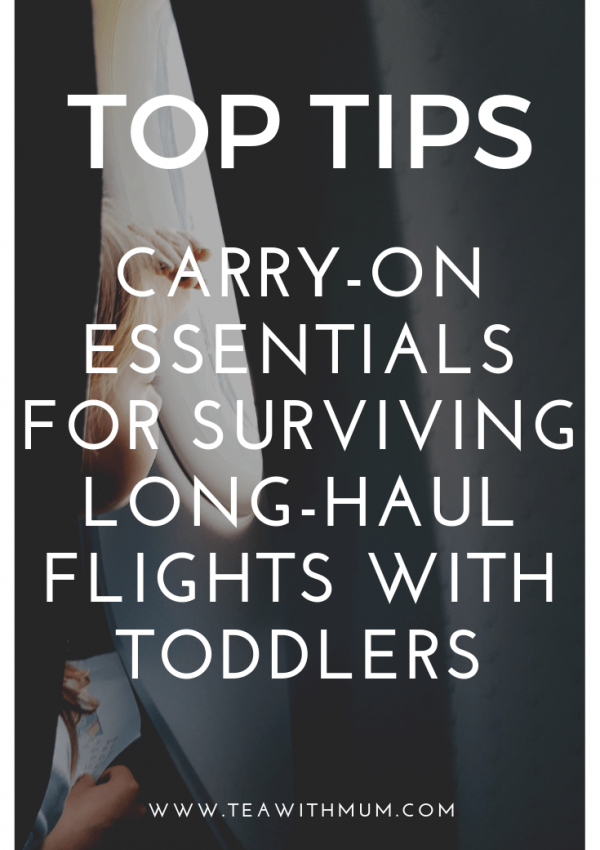 Top Tips: Carry-on essentials for surviving long-haul flights with toddlers