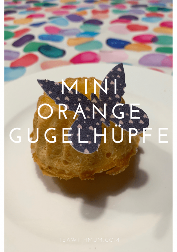 Mini orange Gugelhüpfe