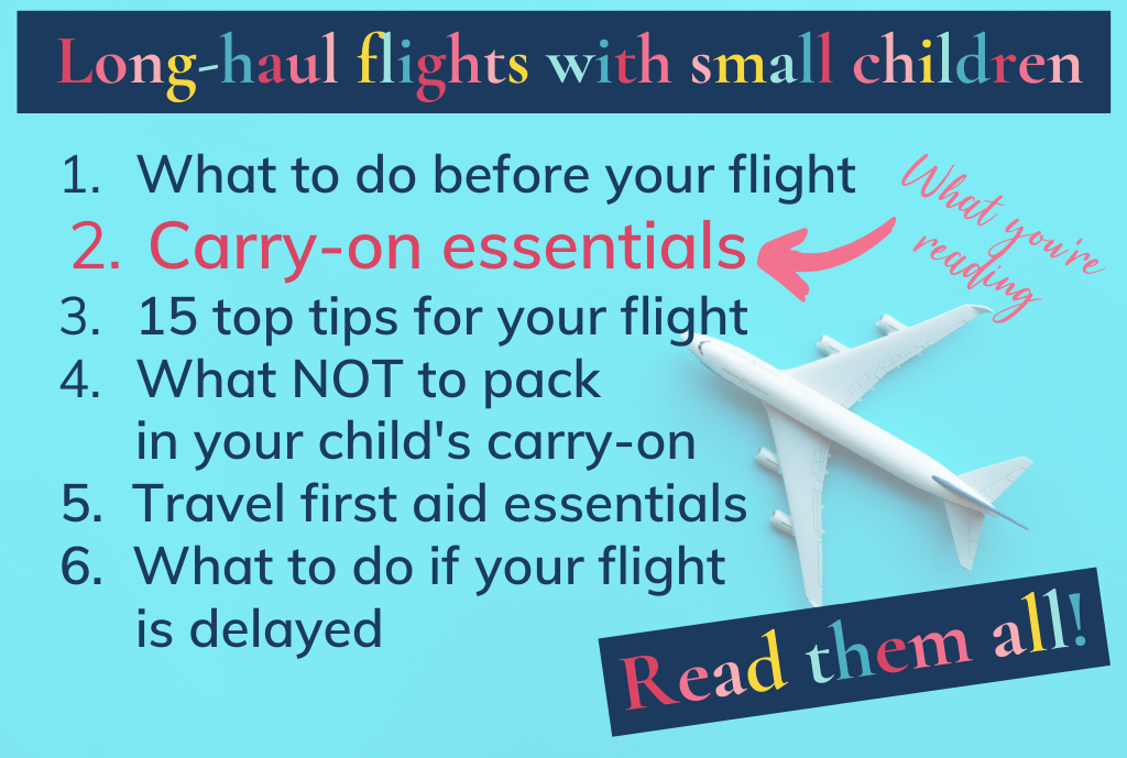 Long-haul flights with small children: the posts