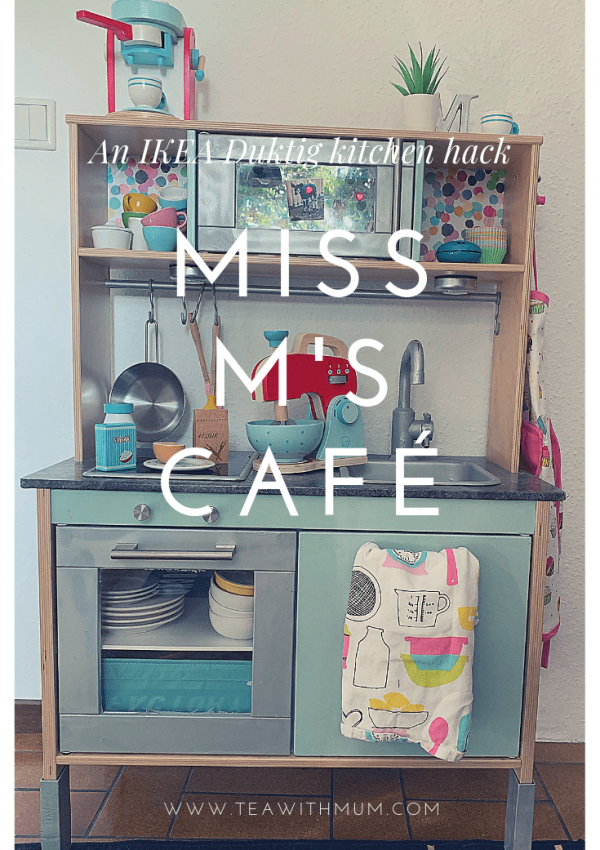 Miss M's cafe: a IKEA Duktig kitchen hack