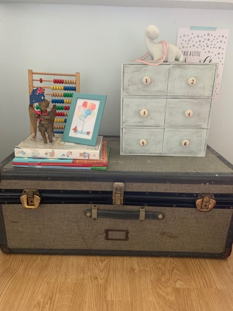 IKEA numbered drawers hack, finished and in use