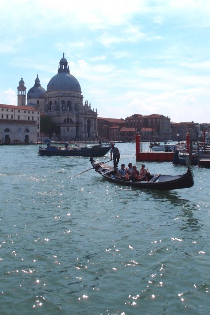 View across the Grand Canal to Basilica di Santa Maria della Salute