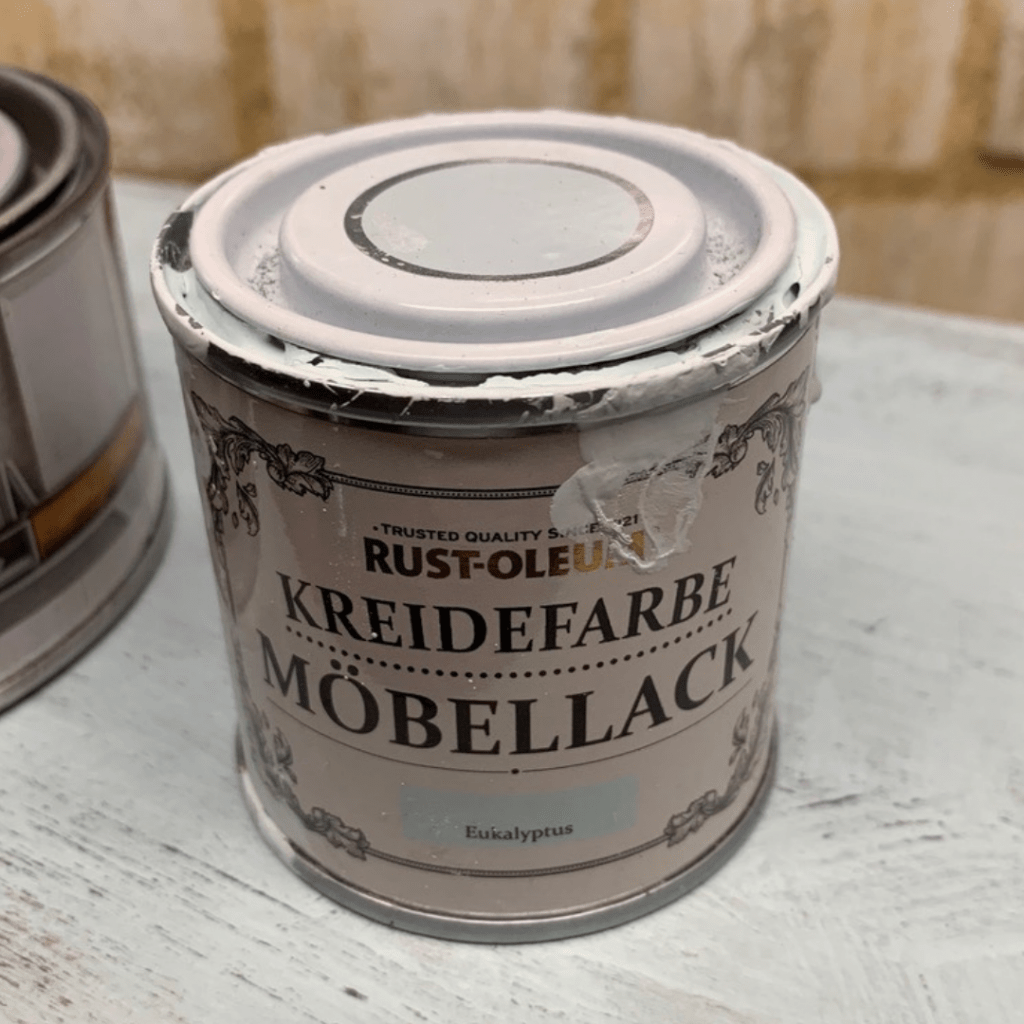 Rust-Oleum eucalyptus chalk paint