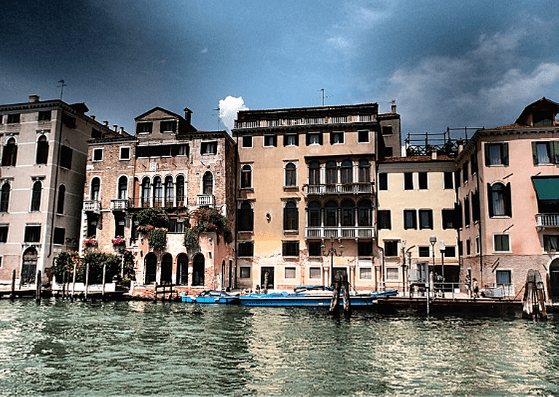 Buildings on the Grand Canal