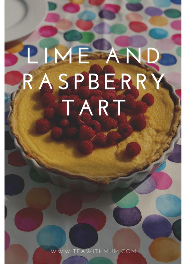 Lime and raspberry tart: an easy and refreshing Summer dessert