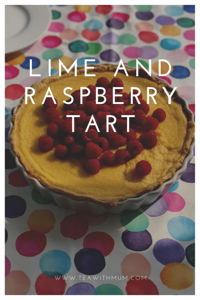 Lime and raspberry tart recipe