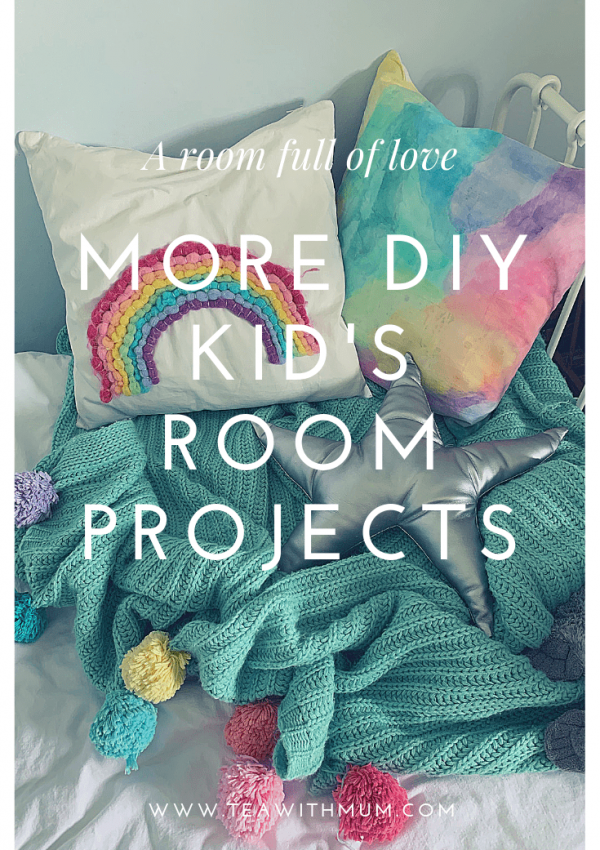 A room full of love: more DIY kid's room projects