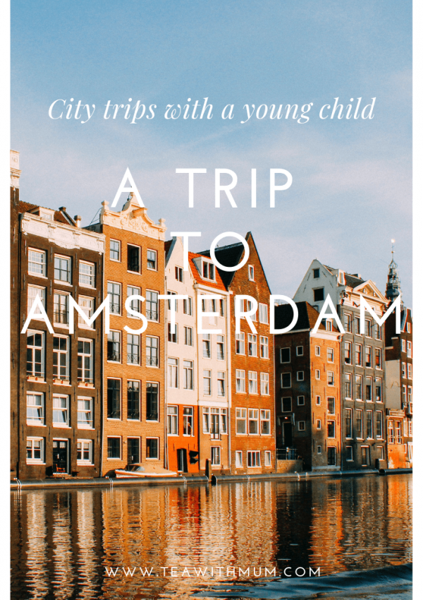 City trips with a young child