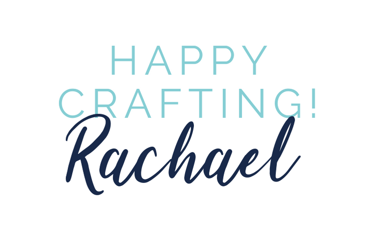 Happy crafting sign off
