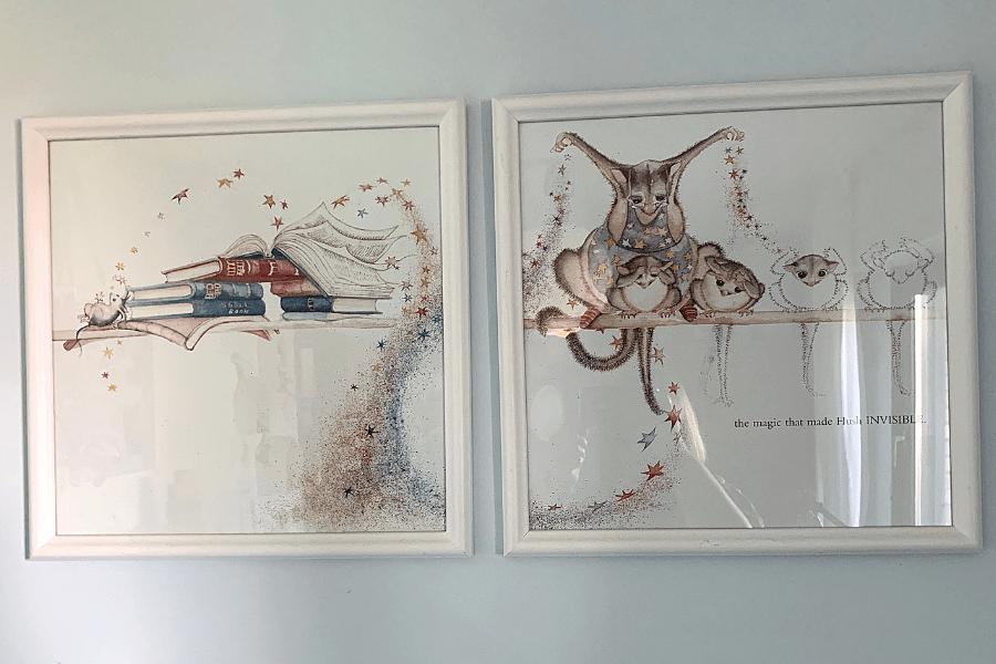 Possum magic art in our gallery of DIY art ideas
