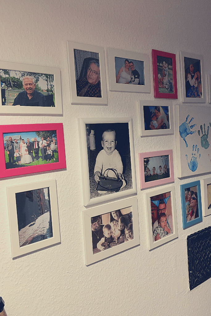 New gallery wall: hallway update progress report