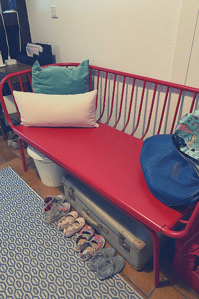 The very red bench: hall update progress report