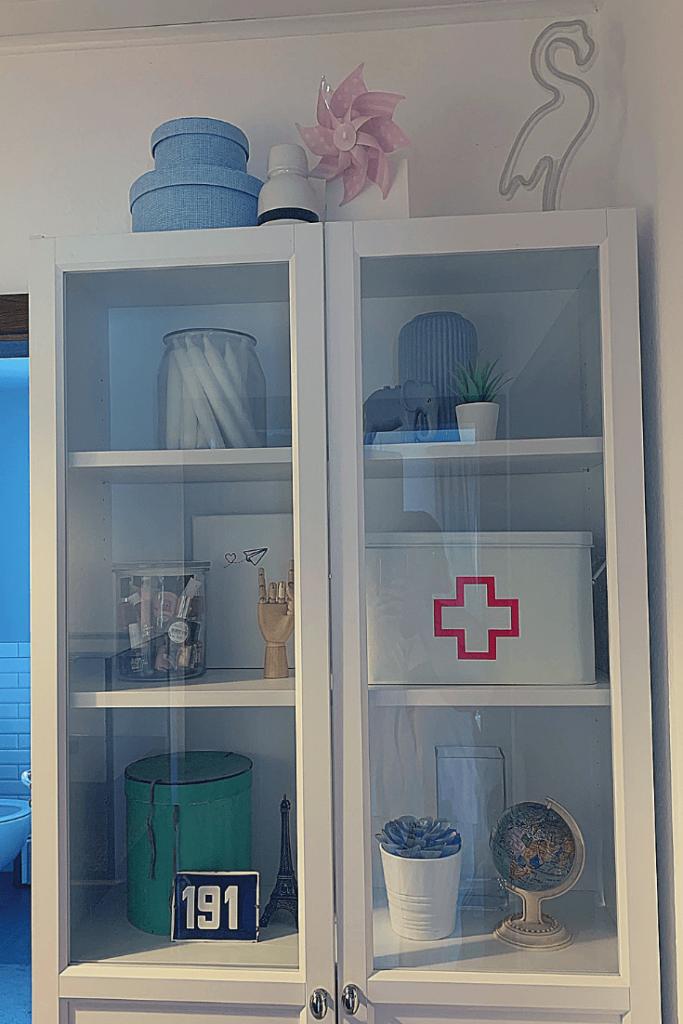 Styled hallway cupboard: hallway update progress report
