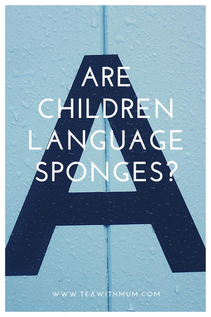 Are children language sponges?