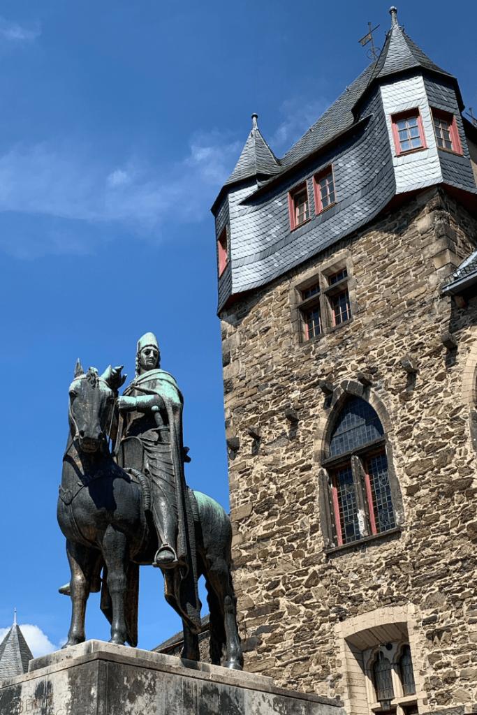 Engelbert II and Burg Castle in Solingen