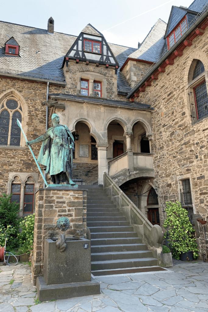 Entry to Burg Castle in Solingen