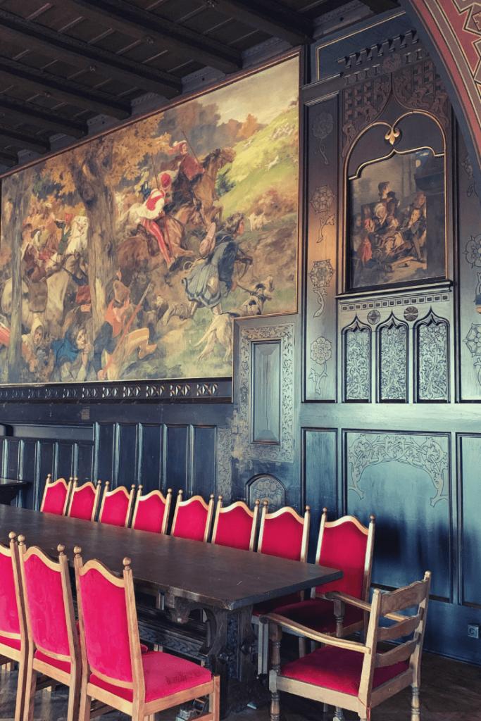 Ladies heated apartment, Burg Castle in Solingen