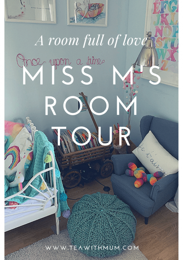 A room full of love: Miss M's DIY room tour