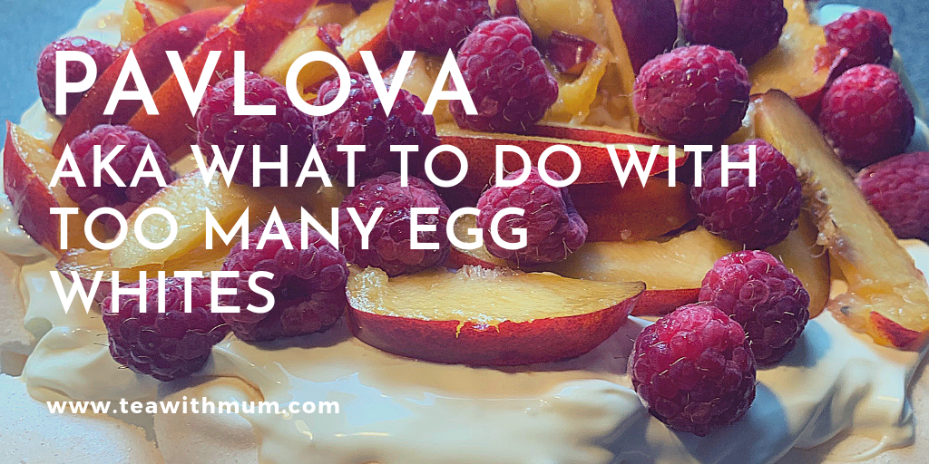 Banner - Pavlova: what to do with leftover egg whites