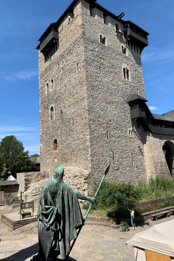 The keep, Burg Castle in Solingen