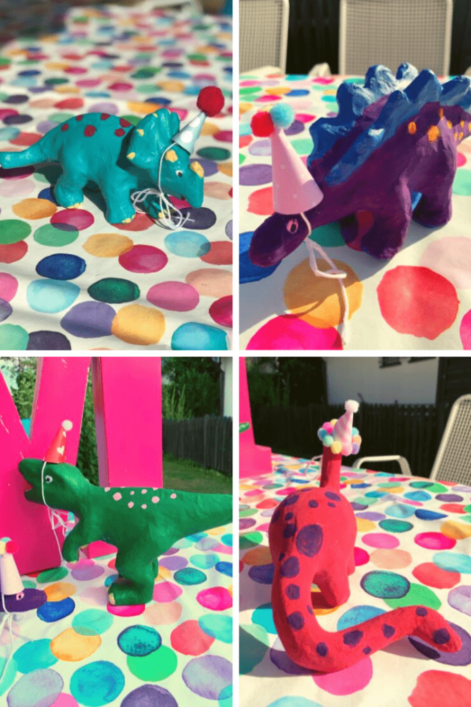 The dinos! Perfect for a dinosaur-themed birthday party for a girl