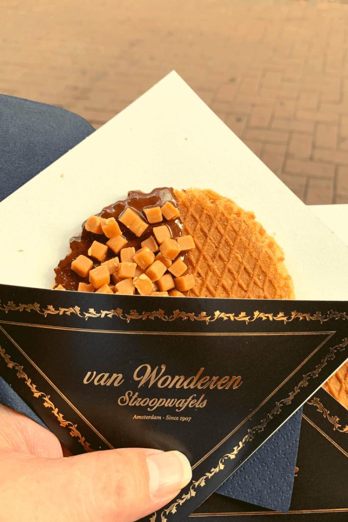 van Wonderen Stroopwafels on the 'best trip ever' to Amsterdam