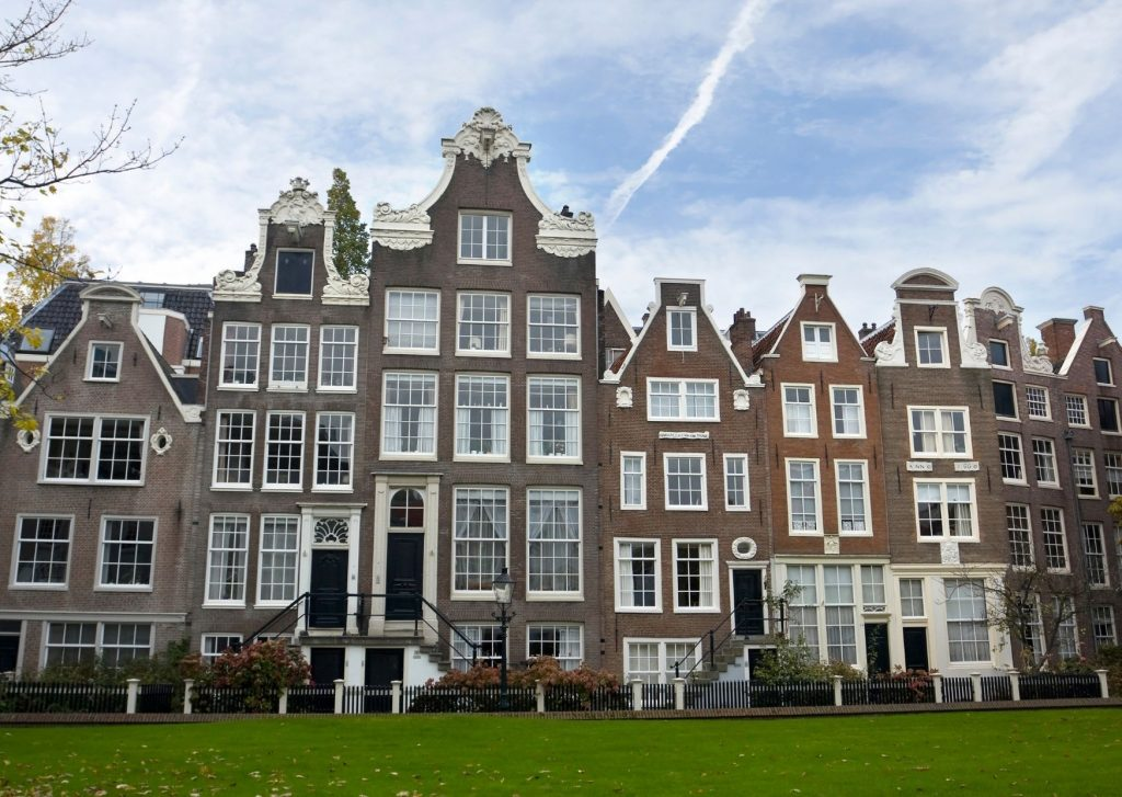 Begijnhof in Amsterdam, one of the sites we saw during our walking tour. The best trip ever, a mother-daughter trip to Amsterdam