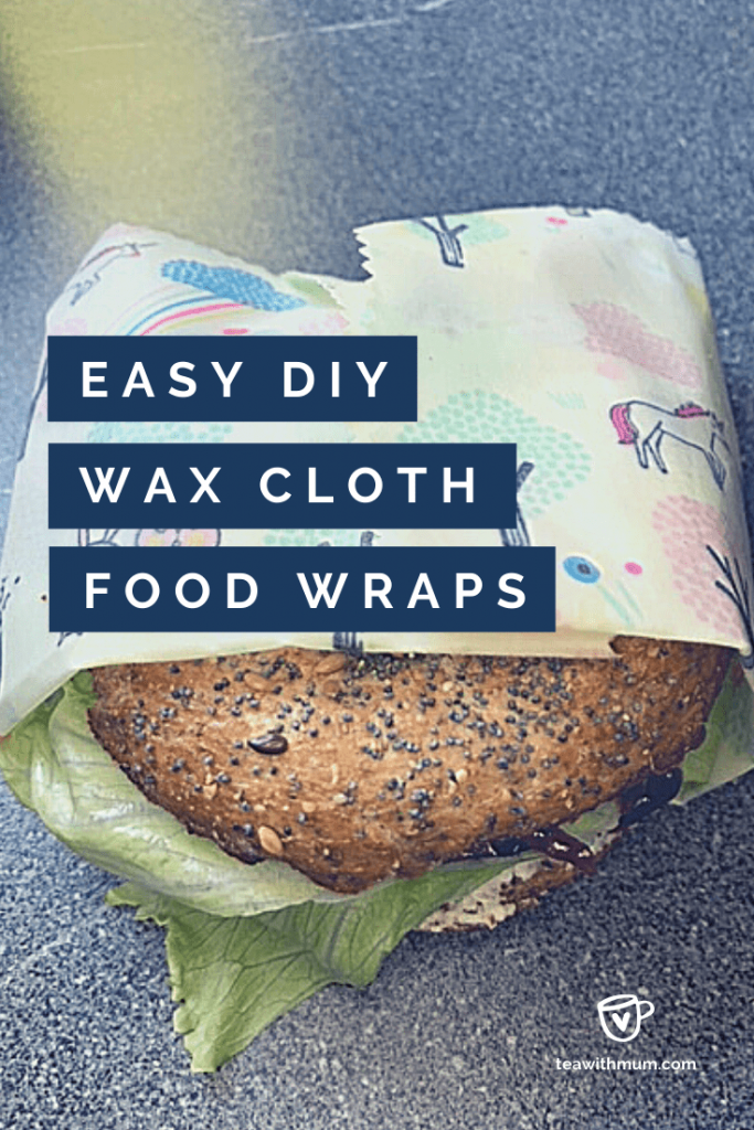 Easy DIY wax cloth food wraps: Vegan, environmentally-friendly, easy, fun, sustainable, eco-friendly, reusable, fun and kids can help you make them