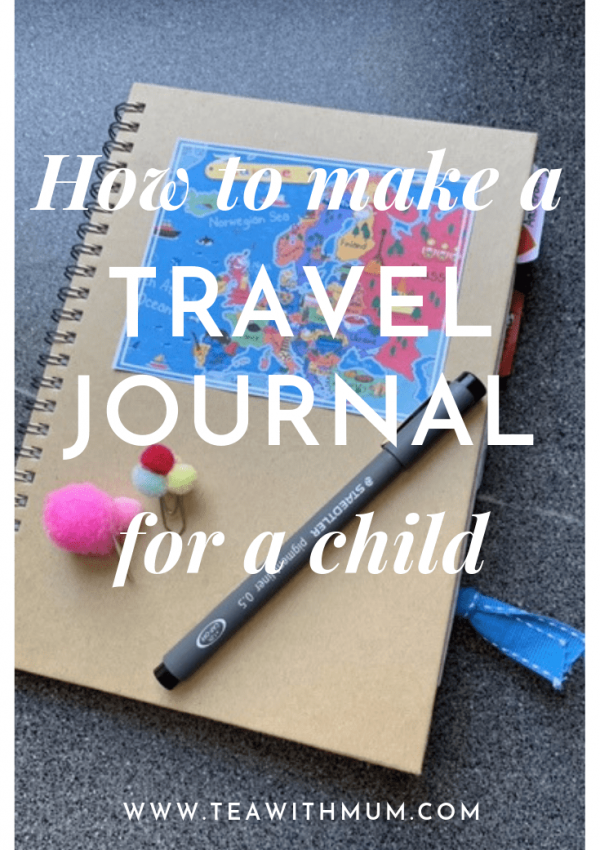 How to make a travel journal for your child