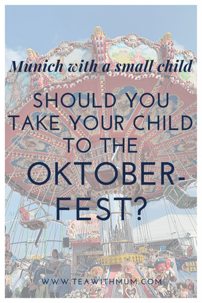Should you take your child to the Oktoberfest? What to do in Munich with a small child; A carousel on the Oide Wiesen