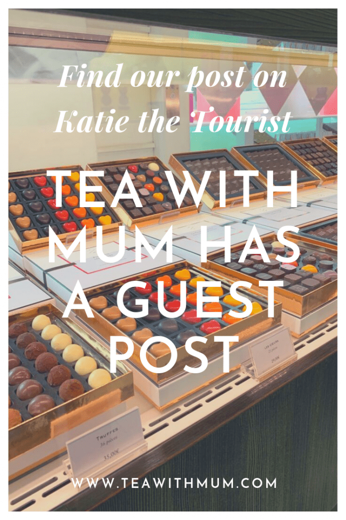 Tea with Mum has a guest post - about Brussels and where to find the best chocolate - on Katie the Tourist