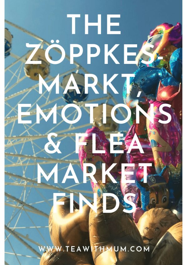 The Zöppkesmarkt, emotions and flea market finds