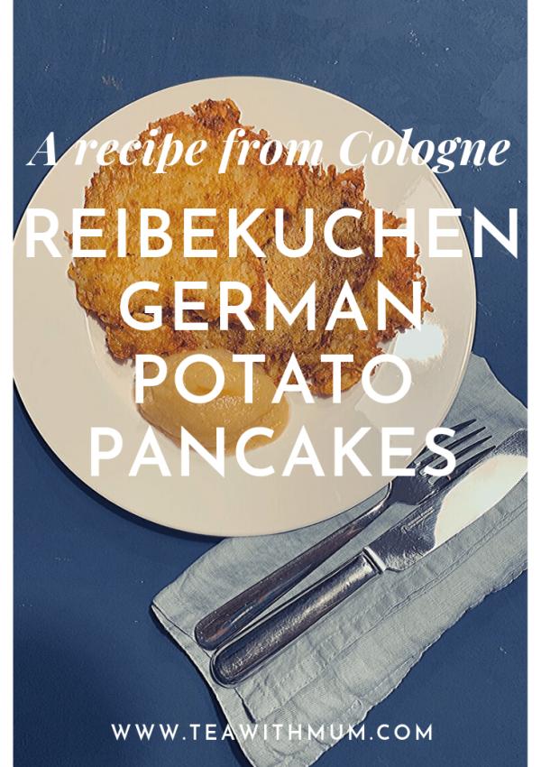 A recipe from Cologne: Reibekuchen: German potato pancakes