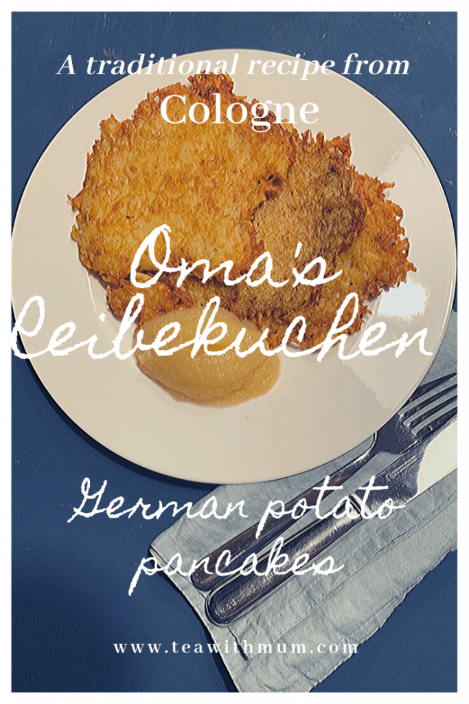 A traditional recipe from Cologne: Oma's Reibekuchen: German potato pancakes
