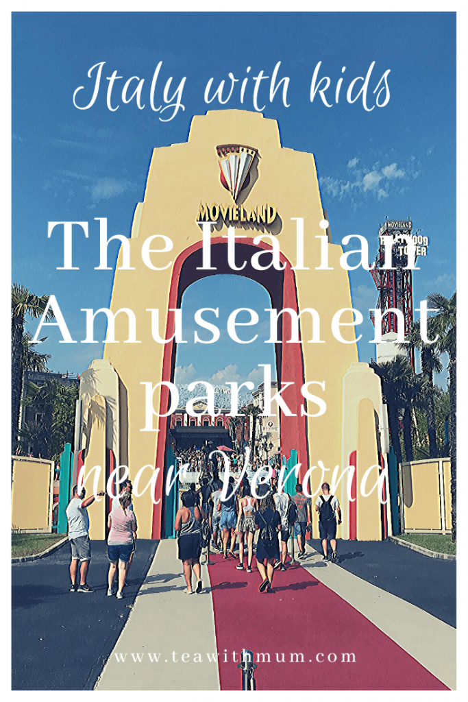 The Italian amusement parks near Verona: Italy with kids: Gardaland, Movieland, Aquapark and Parco Natura Viva: Our reviews and tips; The Movieland gates