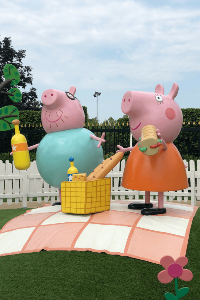 Peppa Pig Land, a new (2018) addition to Gardaland; Italy with kids - the amusement parks near Verona. Perfect for small children who love Peppa and her family