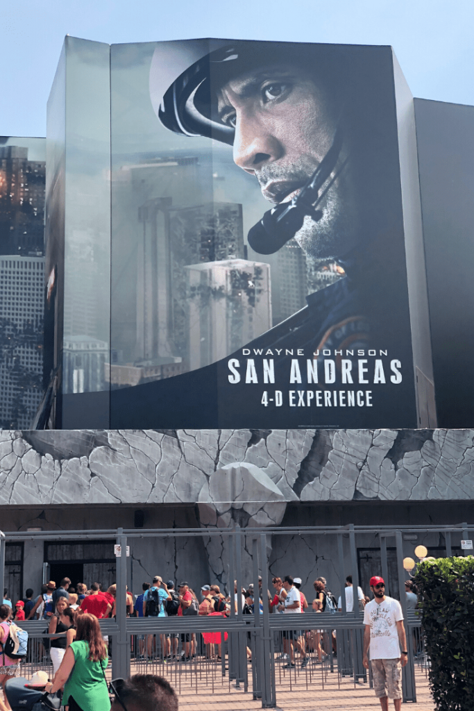 San Andreas, 4D 'experience' based on the film of the same day: new ride at Gardaland: The Italian amusement parks near Verona: Italy with kids