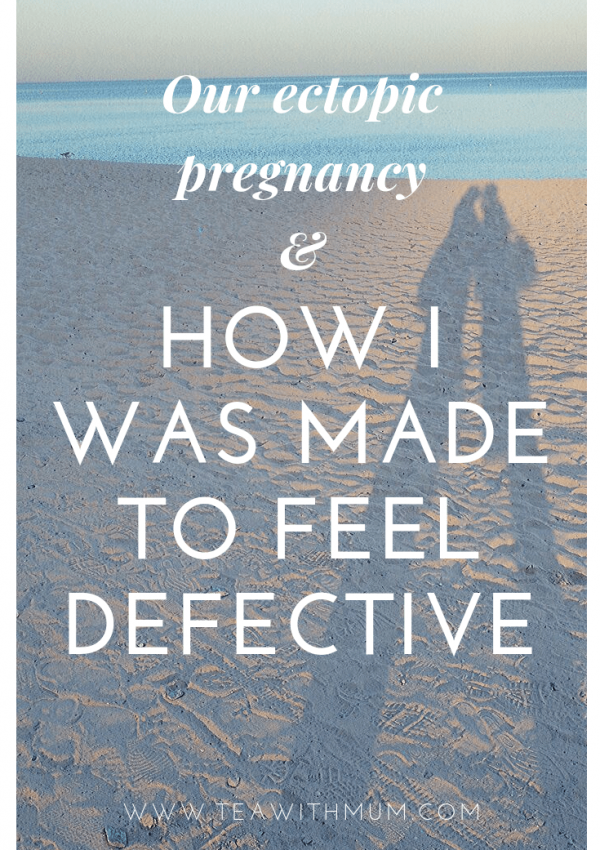 Our ectopic pregnancy: How I was made to feel defective